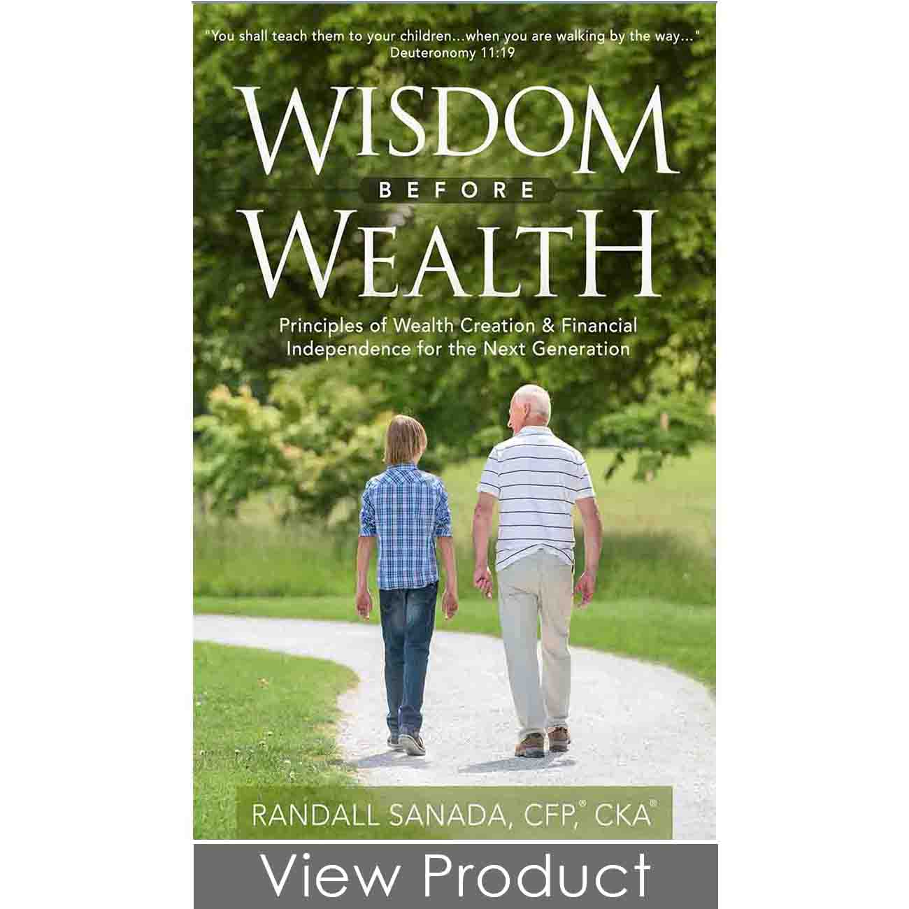 Wisdom Before Wealth